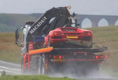 Top Gear e la Lamborghini Diablo distrutta