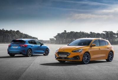 Ford Focus: arriva l'EcoBoost Hybrid