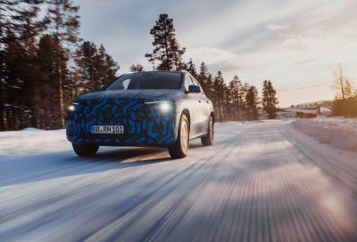 Mercedes-Benz EQA: al via i collaudi su neve