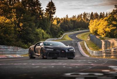 Bugatti Chiron Pur Sport: di nuovo in azione all'Inferno Verde
