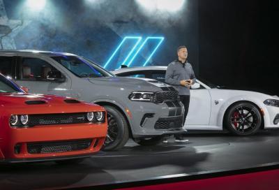 Dodge Challenger, Charger e Durango: arrivano le versioni SRT
