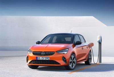 Opel Corsa-e: buona la prima