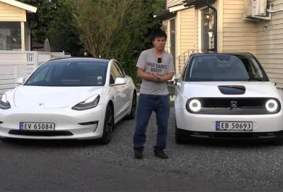 Come ricaricare un'auto elettrica con un'altra auto elettrica