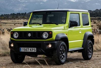 Suzuki Jimny: stop alle vendite in Gran Bretagna