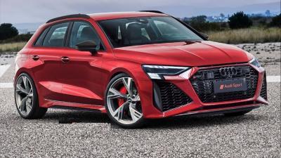 Nuova Audi RS 3 Sportback: sfonderà il muro dei 450 Cv
