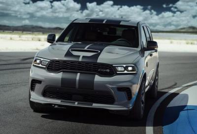 Dodge Durango SRT Hellcat: l'asticella tocca quota 710 puledri