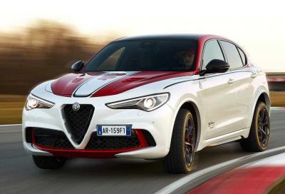 Stelvio Quadrifoglio: rubato un raro esemplare di Alfa Romeo Racing