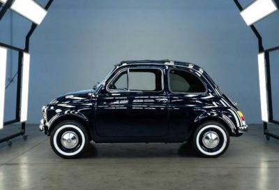Fiat 500 Vintage elettrica? E' Lapo Elkann che ci riprova