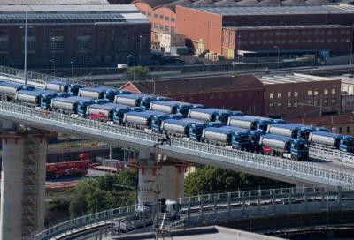 Ponte Morandi (Genova): alto carico statico ma limite a 70 km/h