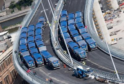 Ponte Morandi (Genova): la fretta ha reso il tracciato non a norma…