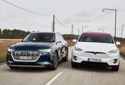 Tesla è superiore! A dirlo è Audi