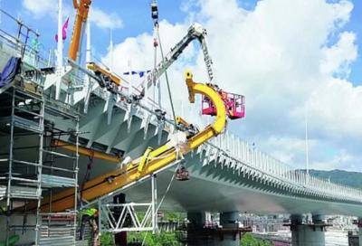 Ponte Morandi (Genova): arrivano i quattro super robot