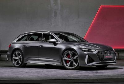 Audi: tutta la gamma RS sarà elettrificata