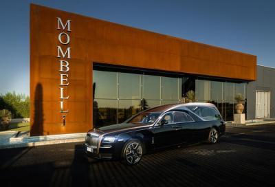 L'autofunebre più lussuosa e costosa al mondo è una Rolls Royce
