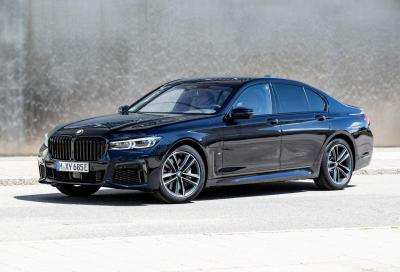 BMW 745Le - Primo contatto