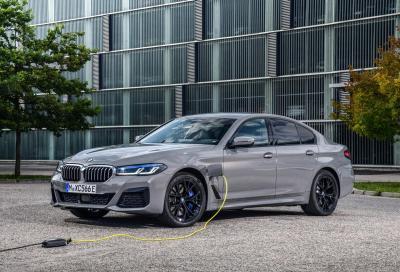 BMW 545e xDrive - Primo contatto