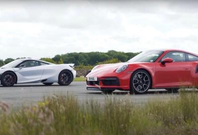 Porsche 911 (992) Turbo S: il quarto di miglio è di nuovo nelle sue mani