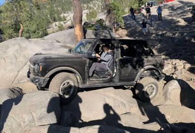 Ford Bronco lancia la sfida al Rubicon Trail
