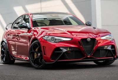 Alfa Romeo Giulia: variante ibrida sempre più vicina