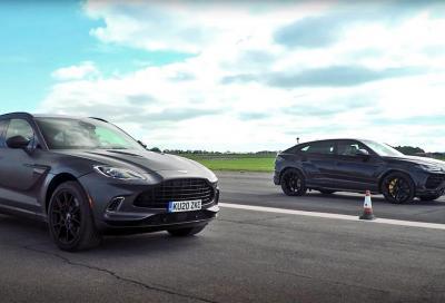Lamborghini Urus vs Aston Martin DBX: testa a tesa tra regine