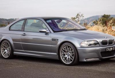 BMW M3 E46 CSL: con il cambio manuale è l'arma definitiva