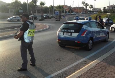 Arrestato dopo folle corsa a 180 km/h a bordo della sua Mercedes