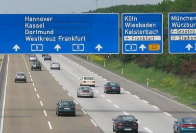 Autostrade tedesche: meno morti per incidente rispetto all'Italia