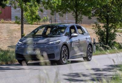Volkswagen ID.3: l'autonomia è da record