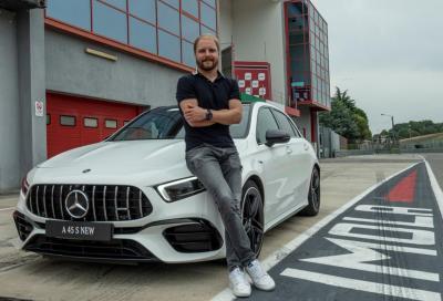 Valtteri Bottas e Mercedes A 45 AMG: binomio letale a Imola