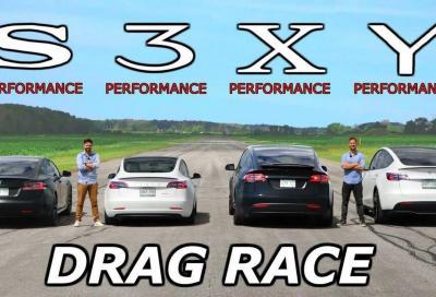 Tesla Performance: la sfida è a botte di elettroni