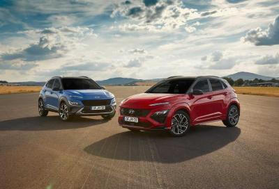 Hyundai Kona: il restyling sa di ibrido e di tecnologia