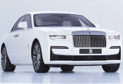 Nuova Rolls-Royce Ghost: lusso e tecnologia ai vertici