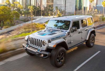 Jeep Wrangler 4xe: per gli amanti dell'off-road ecologico