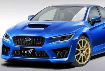 Subaru Wrx Sti 2021: per lei un 2.4 litri da 400 Cv