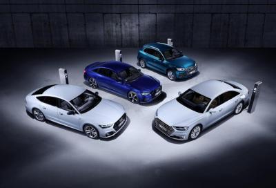 Audi: in futuro sempre più ibride plug-in