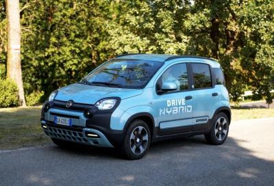 Fiat Panda Hybrid City Cross: consumi ridotti al minimo grazie alla conversione a metano