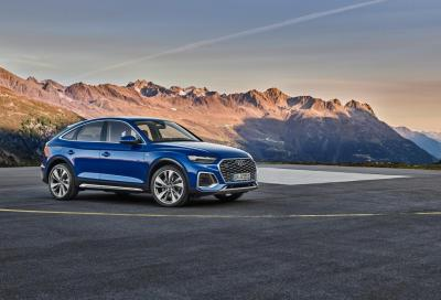 Audi Q5 Sportback: stile e tecnologia si fondono insieme