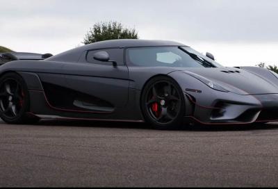 Koenigsegg Regera: la sua accelerazione è stupefacente