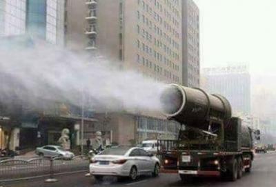 Torino, emissioni: arrivano i cannoni spara acqua a risolvere il problema