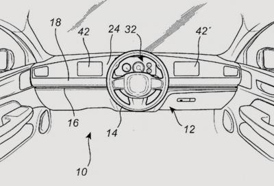 """Volvo: il volante diventa """"flottante"""""""