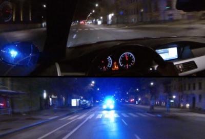 Bmw M5 V10: la Polizia si arrende al suo cospetto