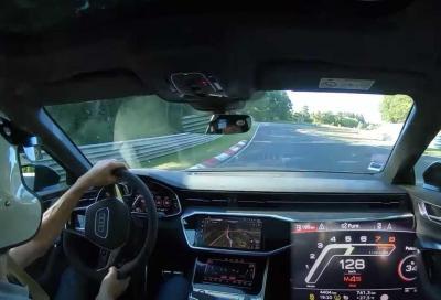 Audi RS6 Avant: l'Inferno Verde non la spaventa