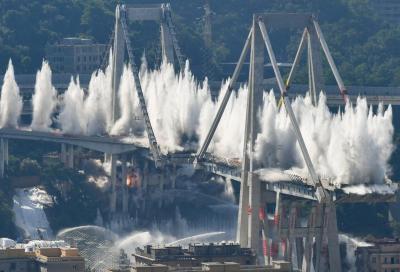 Ponte Morandi: per Aspi vi era un difetto di costruzione
