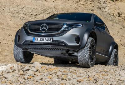 Mercedes-Benz EQC 4x4²: ecologico e inarrestabile