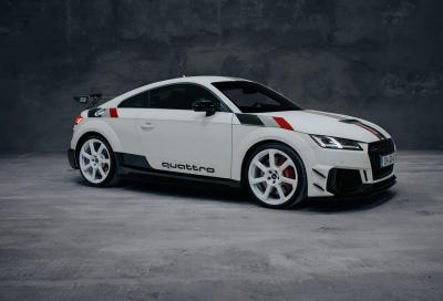 Audi TT RS: edizione speciale per i 40 anni della trazione quattro