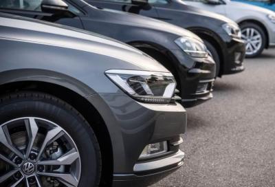 Mercato auto: a ottobre nuovo profondo ribasso