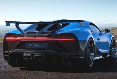 La Bugatti Chiron Pur Sport è l'auto nuova meno efficiente che puoi acquistare