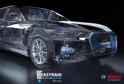 Easyrain AIS: l'aquaplaning non è più un problema