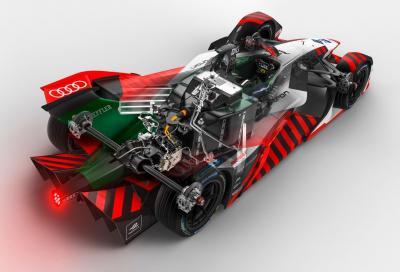 Audi e-tron FE07: la nuova monoposto di Formula E