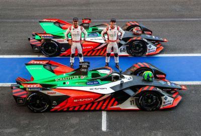 Formula E: per Audi la settima stagione sarà l'ultima